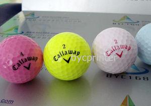 Byc Digital Inkjet UV Printer for Golf Ball Logo pictures & photos