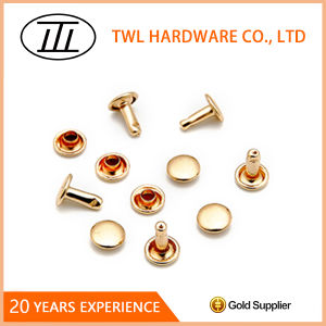 8mm Flat Stud for Bag Iron Rivet for Handbag New pictures & photos