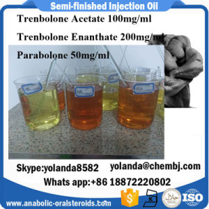 50mg Semi-Finished Injection Oil Parabolone Trenbolone Hexahydrobenzyl Carbonate for Cutting Cycle pictures & photos