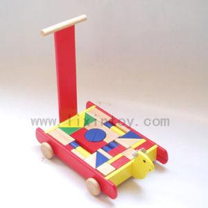 Wooden Toys - Block Cart Toy