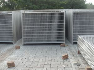 Temporary Fencing Panels 2100mm X 2400mm Width Od 32 Pipes Thick 1.4mm and 2.00mm Ship to Australia pictures & photos