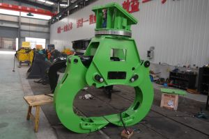 Excavator Wood Cutting Grapple Excavator Rotating Grab pictures & photos
