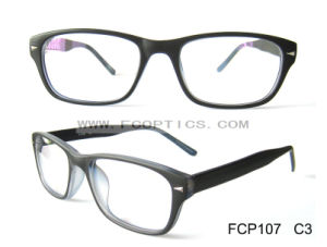 Matt Black White Color Plastic Optical Frame pictures & photos