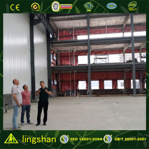 Two Story Steel Structure Warehouse pictures & photos
