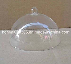 Clear Handmade Glass Cake Dome, Glass Cloche Dome, Glass Bell Jar pictures & photos