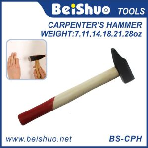 Carbon Steel Hammer with Wooden Handle pictures & photos
