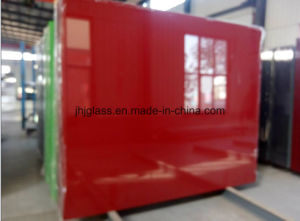 Shahe Factory 3mm to 6mm Color Back Coating Float Glass pictures & photos