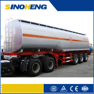 Exported to Middle East Oil Fuel Tank Transport Semi Trailer with Low Price pictures & photos