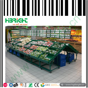 Metal Vegetable Racks Fruits Display Stand for Hypermarket pictures & photos
