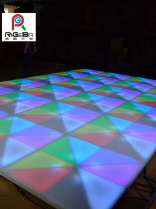 1m*1m*0.1m Colorful LED Acrylic Dance Floor for Nightclub/Stage/Pub/Club pictures & photos