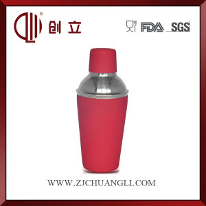 300ml Rubber Painted Stainless Steel Mini Cocktail Shaker