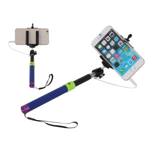 Wire Cable Selfie Stick Monopod for Mobile Phone pictures & photos