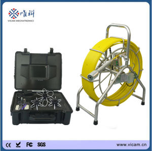 Top 10 CCTV Atuo Self-Leveling Pipe Inspection Camera (V8-3388) pictures & photos