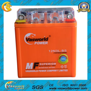 12n3l-BS 12V3ah Actived Sealed Maintenance Free Lead Acid Motorcycle Battery pictures & photos