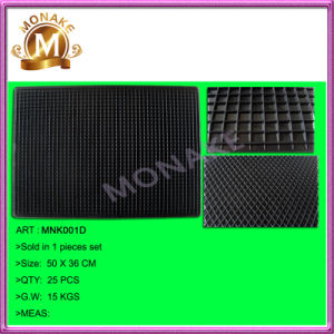 Car Decoration Universal Floor Covering Rubber Mats for Trucks/Cars (MNK001D) pictures & photos