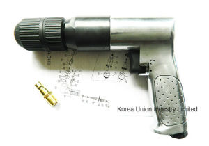"1/2"" Keyless Reversible Chuck Hand Air Drill Machine pictures & photos"