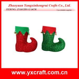 Christmas Decoration (ZY16Y255-1-2 14CM) Cheap Bulk Christmas Gifts pictures & photos