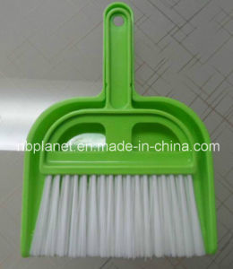 2 in 1 Mini Handy Plastic Dustpan Cleaning Brush Set pictures & photos