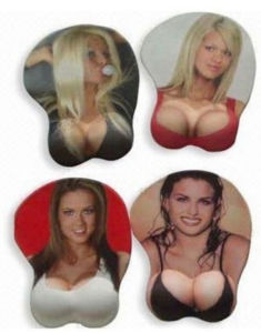 Sexy Girl Breast Game Mouse Pad (GMP024)