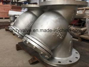 API Class150 Dn300 Cast Steel CF8m Y Strainer (GL41R-150LB-DN300) pictures & photos