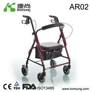 4 Wheel Aluminum Rollator (AR02)