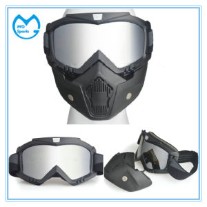 Mirror PC Anti Impact Motocross Mask and Motorcycling Goggles pictures & photos