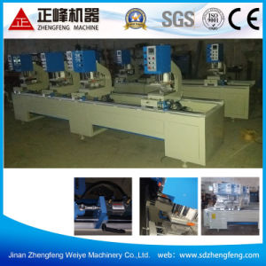 Four Head Seamless Welding Machine for UPVC Doors pictures & photos