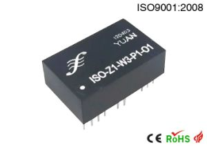 Rtd PT100/Cu100 to Current/Voltage Isolated Transmitter/Converter pictures & photos