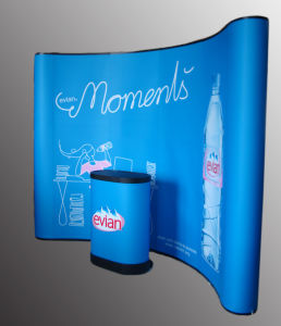 Trade Show Display, Pop up Booth, Backdrop Wall, Roll up Display Stand pictures & photos