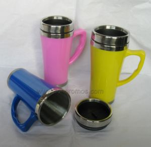 Promotional Gift Colorful Travel Mug pictures & photos