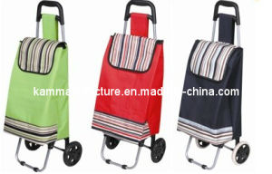 Shopping Trolley Rolling Shopper Shipping Wheel Cart pictures & photos