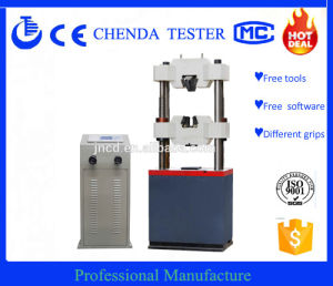We-1000b LCD Display Hydraulic Universal Testing Machine+Tensile Compression, Bend Testing Machine pictures & photos