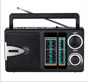 FM/TV/AM/SW1-9 12 Band Radio Receiver MP3 Player (BW-F904U)