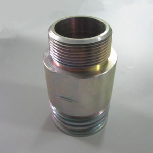 CNC Machining Part for Gas Station Petrol Line Fitting pictures & photos