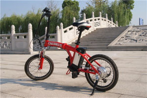 Folded Smart Electric Bike Mini 20′′ Folding 250W Ebike for Sale pictures & photos