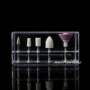 Nail Art Electric Drill Kit Bits File Manicure Tool Sand Grinding Head 5PCS/Set pictures & photos