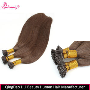 8A Brazilian Virgin Human Hair I-Tip Hair Extensions pictures & photos