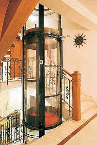Glass Door Cheap Residential Elevator pictures & photos
