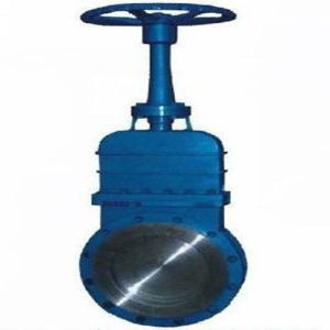 Manual Operation Square Port Carbon Steel Knife Gate Valve pictures & photos