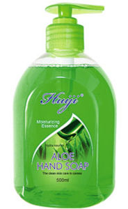 500ml Aloe Plant Essence Antibacterial Hand Wash Soap pictures & photos