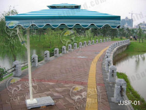 Outdoor Umbrella, Side Pole Umbrella, Jjsp-01 pictures & photos