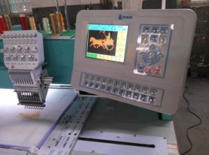 Flat Computerized Emboirdery Machine pictures & photos