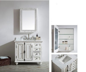Luxury Vanity Mirror Cabinet/Bathroom Cabinet (DS18) pictures & photos