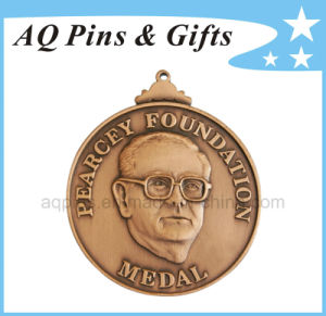 3D Metal Medal with Antique Copper Plating pictures & photos