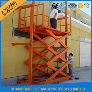 Ce Small Elevator Lift Hoist Cargo Lifting Hoist pictures & photos