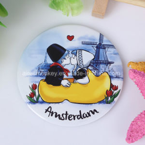 Tin Custom Pocket Mirror for Promotion and Advertising pictures & photos
