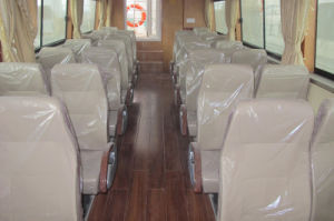 Aqualand 42feet 12.8m Fiberglass Passenger Boat /Water Taxi with Cabin Twin Engine Propulsion/Pilot Boat /Motor Boat (aql1280) pictures & photos