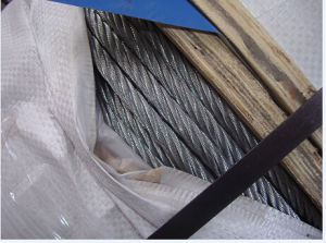 Bundling Steel Wire Rope/ 6 Strands/Steel Wire Rope pictures & photos