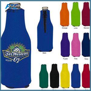 Ome Neoprene Zipper Beer Bottler Cooler Wine Holder pictures & photos