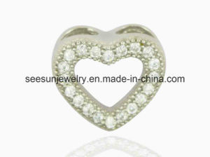 925 Silver Cute Heart Pendant for Mother′s Day and Valentine Day Gift pictures & photos